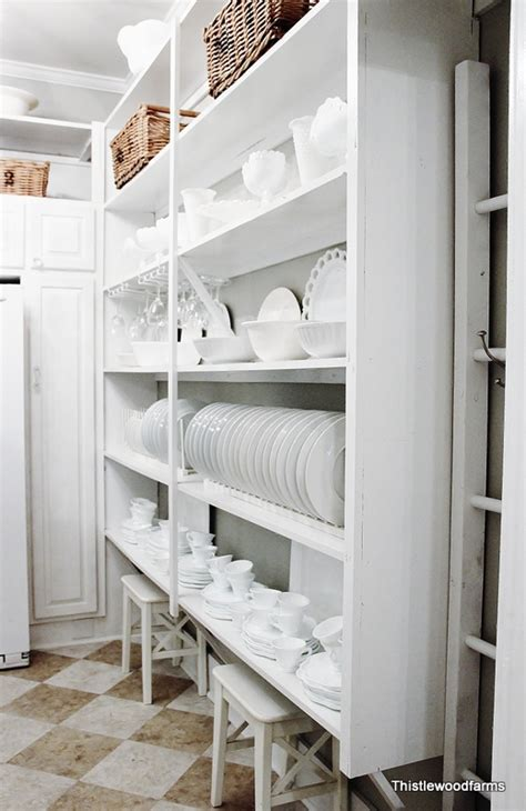 The Butler S Pantry by White Open Shelving2 1 2