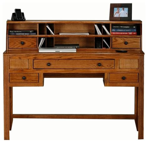 writing desk with hutch oak ridge writing desk w hutch oak desks and