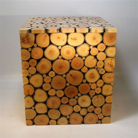 stuhl hocker kubus massiv baum hocker holz stuhl bauhaus stil tisch