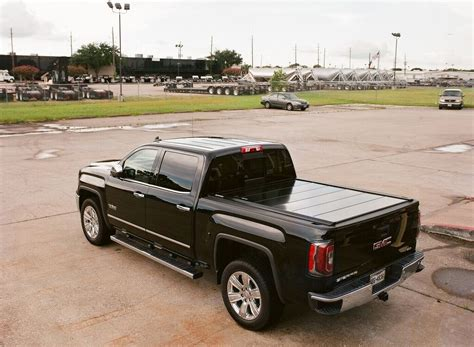 gmc sierra bed cover peragon retractable truck bed covers for gmc sierra pickup