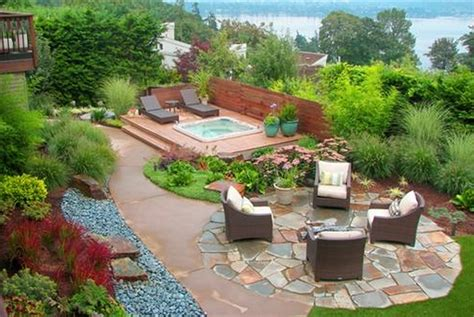 backyard layout ideas relaxing backyard landscape designs design architecture