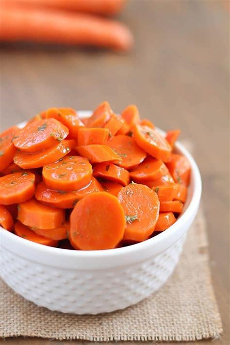 dish carrot recipes easy glazed carrots healthy easy