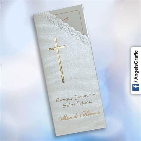 recordatorios de misa de honras invitaci 243 n para misa de honras hr 56860 angels graphic