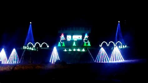 fond du lac wi lake side park christmas light show youtube