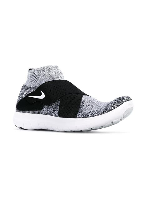 lyst nike cross sneakers in gray for