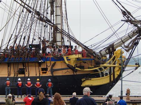 hermione bateau visite en images visite de l hermione et premi 232 re escale 224