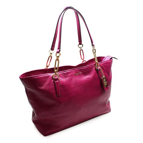 Catania Eastwest Clutch Purses Designer Handbags And Reviews At The Purse Page by Coach Leather East West Tote Bag Cranberry 26769
