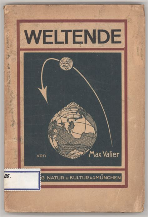 Trashionista Recommends Expanded Books by Weltuntergang Max Valier Second Expanded Edition