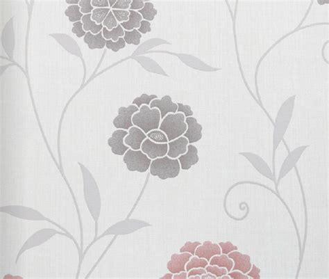 modern floral wallpaper modern floral print wallpaper red contemporary