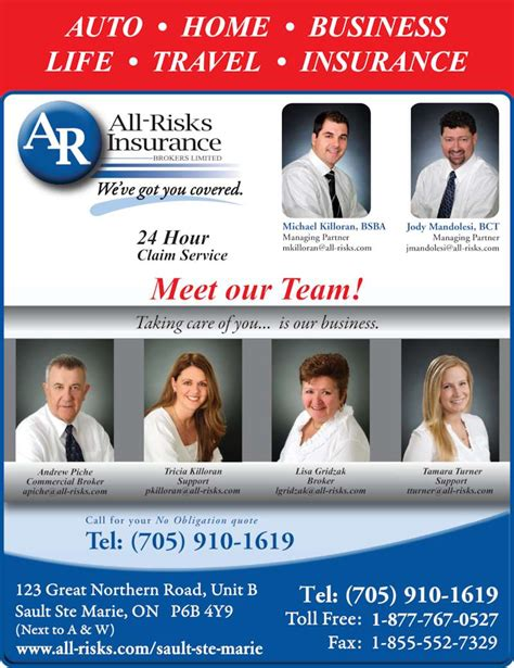 intact house insurance all risks insurance brokers limited opening hours 123b great northern rd sault