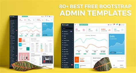 80 best free bootstrap admin templates 2017 for web