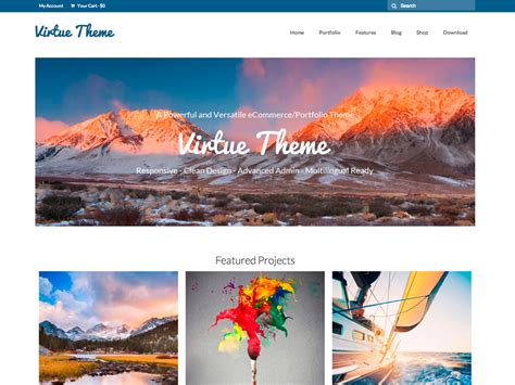 theme virtue blog 36 best free and premium ecommerce wordpress themes 2014