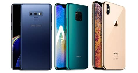 huawei mate 20 pro vs iphone xr vs samsung galaxy note 9 price in india specifications and