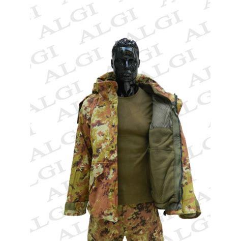 interno test italiano parka militare vegetato 2012 modello italiano con interno