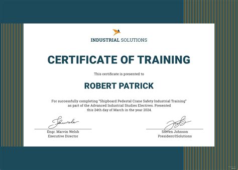 training certificate template microsoft office templates