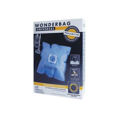 sac universel rowenta wonderbag aspirateur wb406120