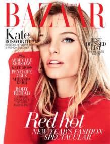 In Harpers Bazaar by Kate Bosworth Harpers Bazaar Magazine Australia January