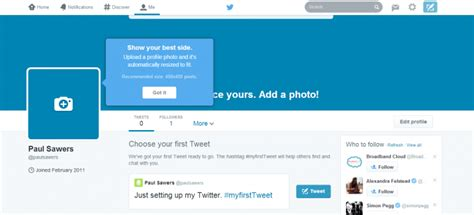 twitter account layout twitter rolls out a brand new look of the user profile