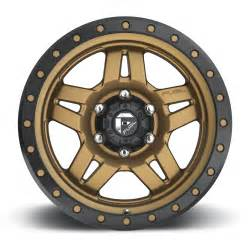 20 Bronze Truck Wheels Anza D583 Fuel Road Wheels