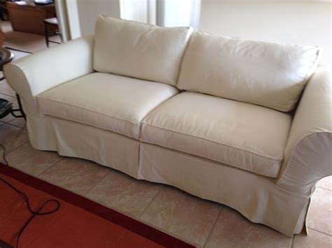 Custom Sofa Slipcover With Seat Back Cushions Over 61 Pillow Back Sofa Slipcover