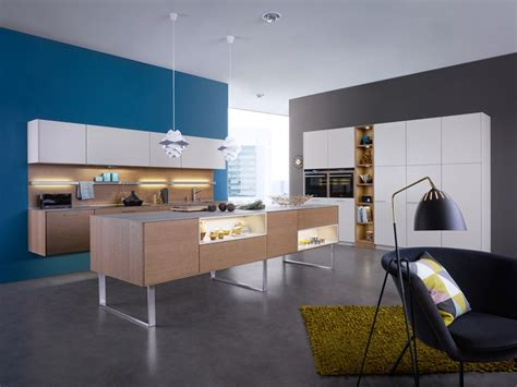 kitchen feature wall ideas white and wood kitchen blue feature wall interior
