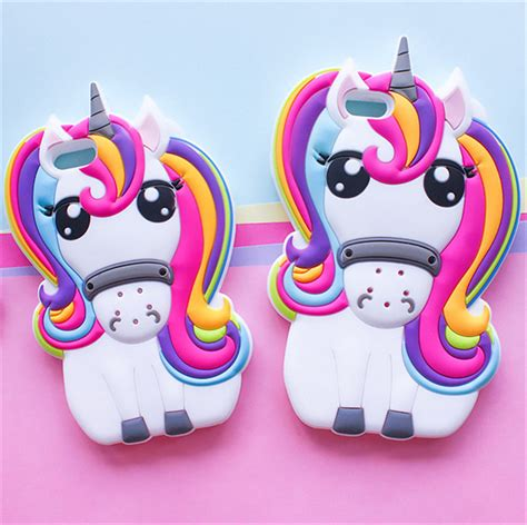 Iphone 6g Silikon 3d Cover Silikon kupuj wyprzedażowe unicorn iphone od chińskich
