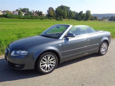 Audi A4 Cabrio S Line by Audi A4 Cabriolet 2 0 Tdi S Line Chf 10 900 Occasion