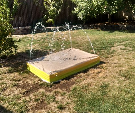 how to make a backyard splash pad backyard recirculating splash pad portugu 234 s
