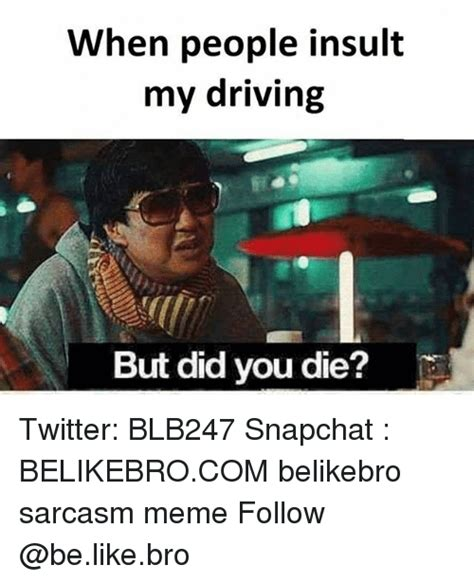 You Did Meme - but did you die from mr chow in hangover to internet