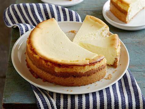 goat cheese cheesecake goat cheese cheesecake with spiced wafer crust recipe anne burrell food network