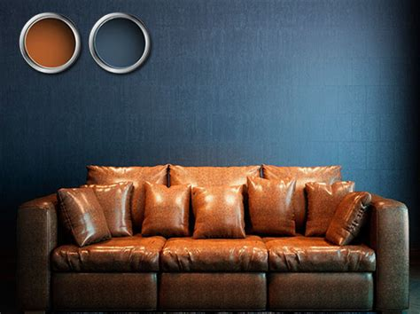 brown and blue walls 8 great color combinations for brown furniture