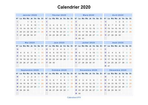 Calendrier 2018 Ccq Calendrier 2020 224 Imprimer Gratuit En Pdf Et Excel