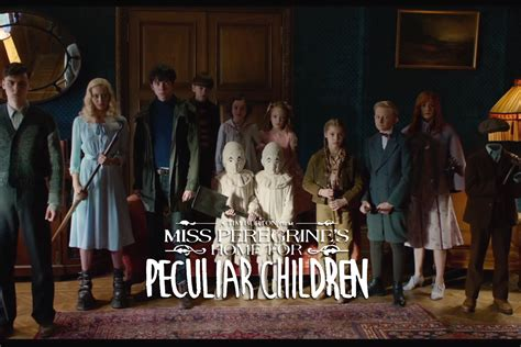 S Home miss peregrine s home for peculiar children trailer is out