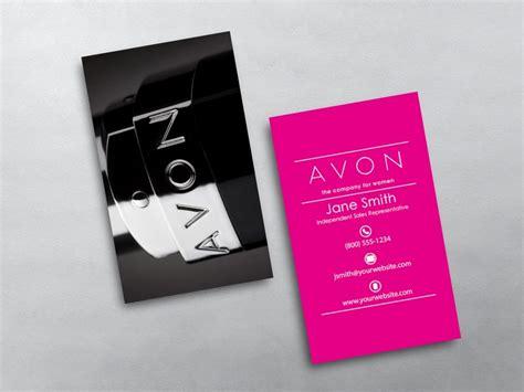 avon business card template avon business cards