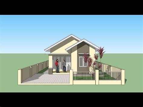 tutorial menggambar rumah dengan sketchup sketchup tutorial menggambar rumah youtube