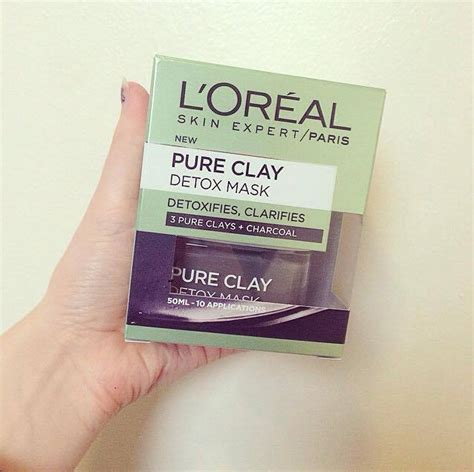 Detox Mask Review by L Oreal Clay Detox Mask Review