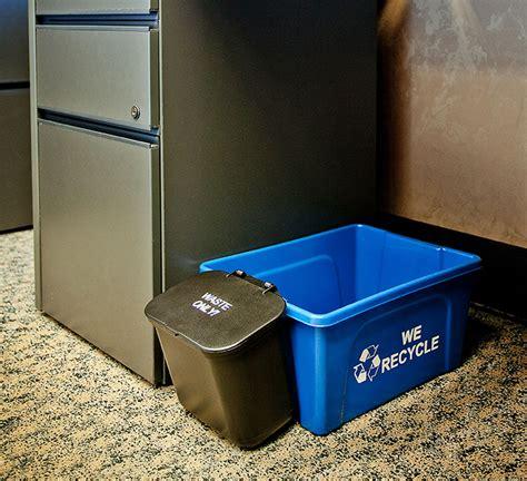 desk recycling bins deskside recycling bin busch systems usa