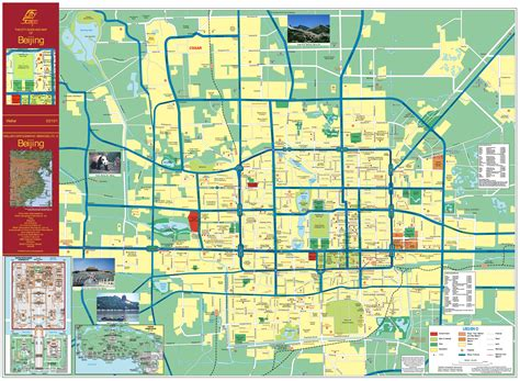 city map maps of beijing detailed map of beijing city in