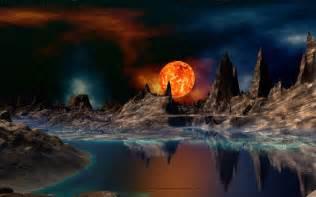 Outer Space Bedroom red giant sunset sci fi desktop wallpaper pixels science