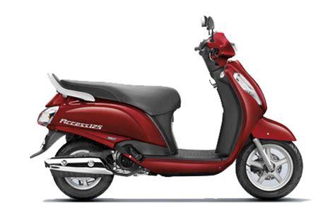 Suzuki Access 125 Colours Suzuki Access 125 Available Colours In India Bikejagat