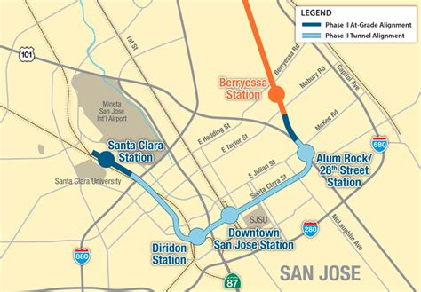 amgen san jose route map budget threatens underground mega projects