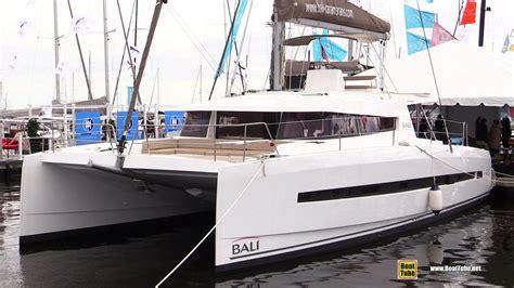 bali catamaran youtube 2017 bali 4 5 catamaran deck and interior walkaround