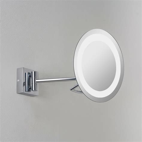 bathroom mirror chrome astro gena plus polished chrome bathroom mirror light at