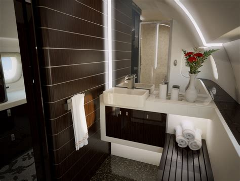 private plane bathroom this is what the inside of a 53 million jet looks like