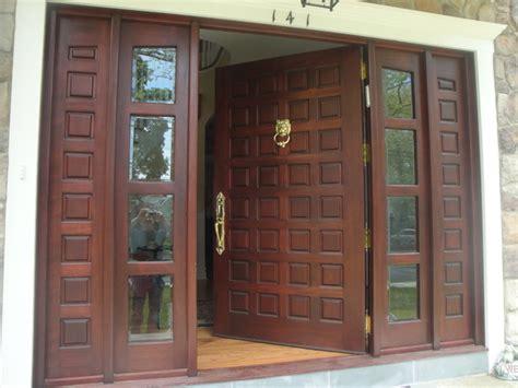 Custom Made Front Doors Custom Made Solid Mahogany Door Front Doors New York By Custom Made Wood Furniture