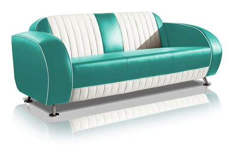 diner couch jaren 50 retro meubels van het a merk bel air prijzen