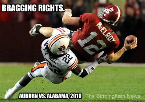 Alabama Auburn Memes - bragging rights auburn vs alabama 2010 college