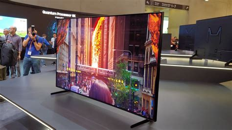 samsung 8k tv samsung s 8k qled tv costs 4x more than the best 4k tv on the market techradar