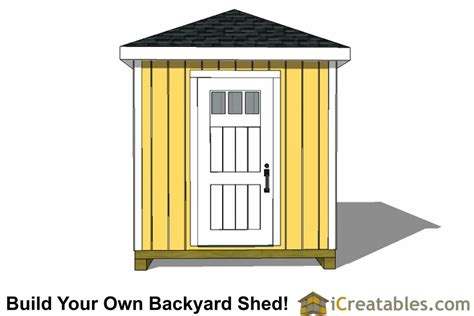 hip roof barn plans 8x16 hip roof shed plans