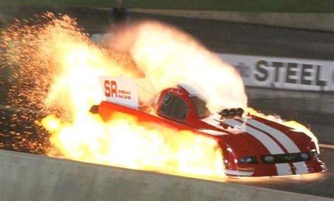 boat engine blows up mark sheehan blowup nitro funny car explosion perth